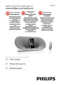 Manual del usuario Philips DS8500