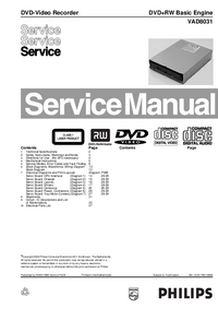 Manual de servicio Philips VAD8031