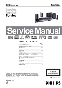 Service Manual Philips MX6050D 17