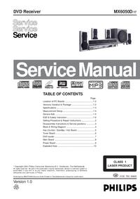Instrukcja serwisowa Philips MX6050D 17