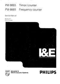Service Manual Philips PM 6665