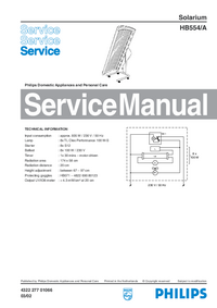 Service Manual Philips HB554/A