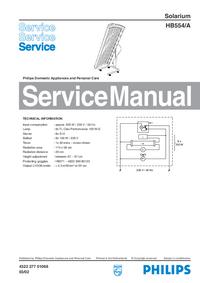 Instrukcja serwisowa Philips HB554/A