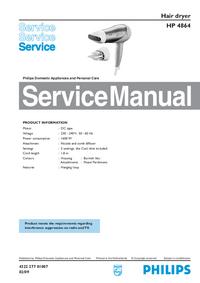 Instrukcja serwisowa Philips HP 4864