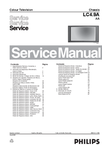 Manual de servicio Philips LC4.9A