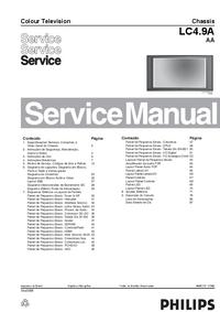 Serviceanleitung Philips LC4.9A