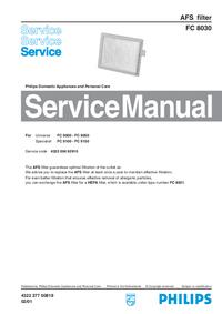 Manuale di servizio Philips FC 8030