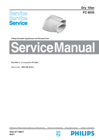 Service Manual Philips FC 8035