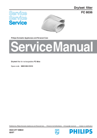 Manual de servicio Philips FC 8036