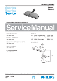 Manual de servicio Philips FC8041