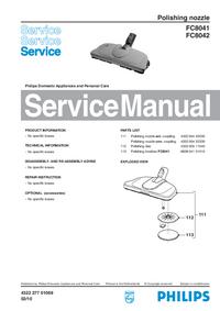 Instrukcja serwisowa Philips FC8041