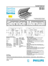 Service Manual Philips HB 546/A
