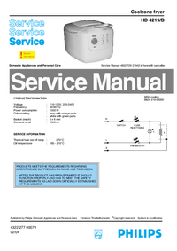 Service Manual Philips HD 4219/B