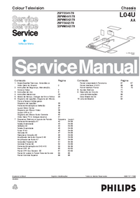 Manual de servicio Philips 25PT5541/78