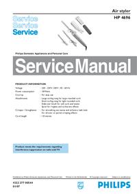 Servicehandboek Philips HP 4696