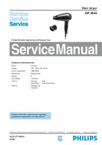 Servicehandboek Philips HP 4846
