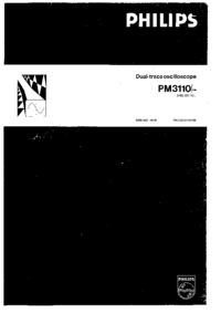 Manuale d'uso Philips PM3110