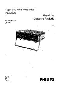 Manual de serviço Philips PM 2528