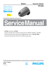 Service Manual Philips Mobilo HR 8565