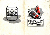 Catalog Philips Miniwatt Valves