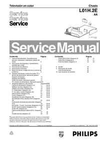 Manual de servicio Philips Chassis L01H.2E