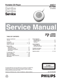 Manual de servicio Philips ACT500