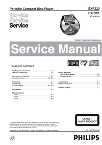 Service Manual Philips EXP221