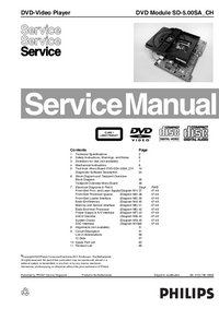 Manual de servicio Philips SD-5.00SA_CH