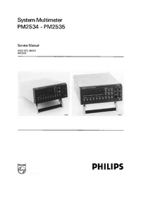 Manual de servicio Philips PM2535