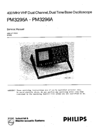 Service Manual Philips PM3296A
