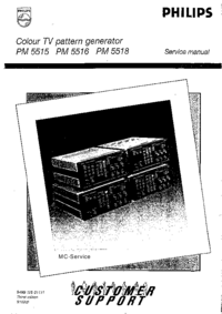 Service Manual Philips PM5518