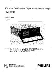 Руководство по техническому обслуживанию Philips PM3320