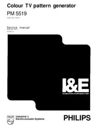 Manual de serviço Philips PM5519