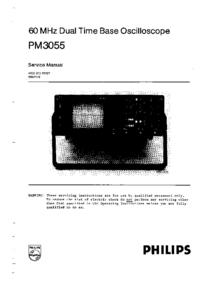 Manual de servicio Philips PM3055