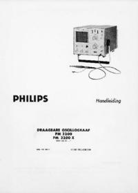 Manuale d'uso Philips PM3200