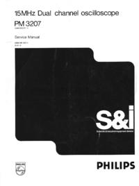 Schaltplan Philips PM3207