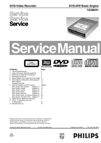 Service Manual Philips VAD8041