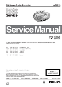 Service Manual Philips AZ1019
