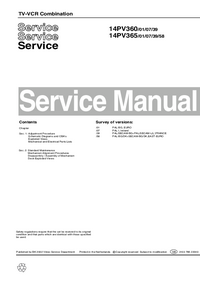 Service Manual Philips 14PV360