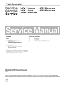 Manual de servicio Philips 14PV203