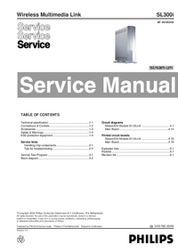 Service Manual Philips SL300i