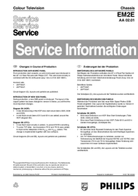 Manuale di servizio Supplemento Philips EM2E AA 02.01