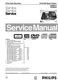 Manual de servicio Philips VAE8015