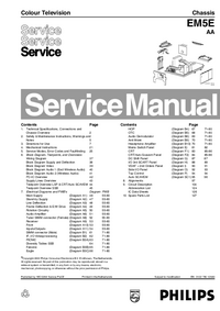 Service Manual Philips EM5E AA