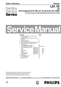 Manual de servicio Philips L01.1E AB