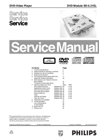 Manual de servicio Philips SD-5.31SL