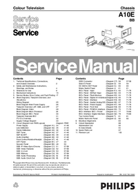 Service Manual Philips A10E BB