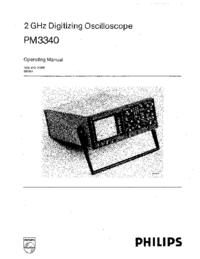 Manuel de l'utilisateur Philips PM3340