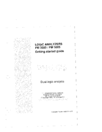 User Manual Philips PM 3585