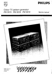 Service Manual Philips PM 5518